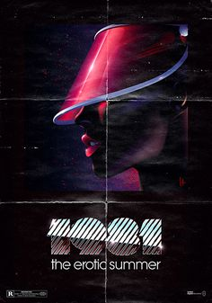 vaporwave logo Titulo: The erotic summer Autor: Tomas Cantoni Ao: 1981 80s Posters, 80s Neon, 80s Design, Design Art, Neon Noir, Retro Waves, Airbrush Art, Design Graphique, Dark Fantasy Art
