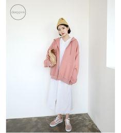 that pink hoodie is so cute