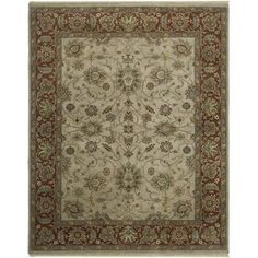 Luxor Beige Rectangle: 10 Ft. x 14 Rug - (In Rectangle)