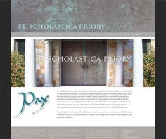 st-scholastica-priory-site Website Designs, Multimedia, Beautiful, Design Websites, Website Layout, Web Design