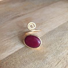Bague agate rouge by HurremSultanJewelry on Etsy