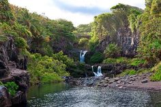 Maui - The Seven Sacred Pools Waterfalls