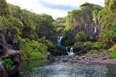 Maui - The Seven Sacred Pools Waterfalls