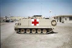 M113 combat ambulance