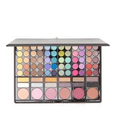 Crown Brush 78-Color Eyeshadow & Liner Palette by Crown Brush #zulily #zulilyfinds