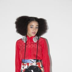 Amandla Stenberg. Photo courtesy Marc Jacobs.-Wmag