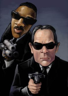 Men in Black (1997/2002/2012) ~~ Comedy | Sci-Fi ~~ Protecting the Earth from the scum of the Universe. ~~ Artwork by Nicole Cardiff