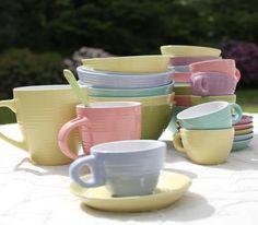 Farver på krus, kopper og skåle