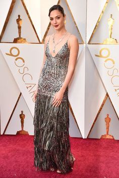 Gal Gadot in Givenchy, 2018 Oscars.