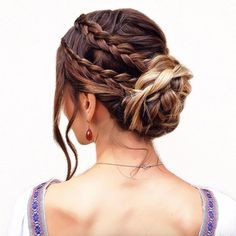 Braided bun by Braids in Action