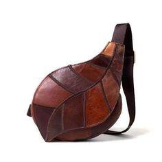 4c1573d001d Genuine Leather Bag Chest Pack Women s