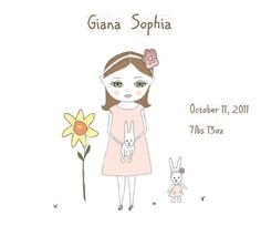 Choose CoLoR Personalized Nursery Art Little by MyDifferentStrokes, $22.00