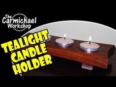 How To Make A Tealight Candle Holder
