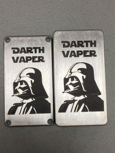 Custom Engraved Hammond Box 1590G 1590 Darth Vaper Star Wars Design Vape Project #Hammond