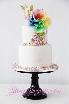 wedding cake idea: Sweet Sugarboy Ed