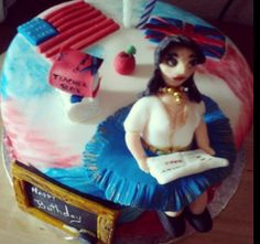 Teacher English Cake