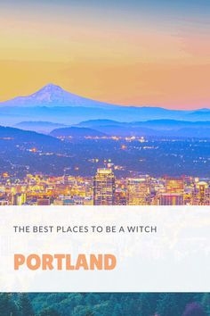 Where should you live if you want to live near other witches? From Salem to Seattle, there are a few cities with more witches in the USA than others. You should move to Portland, where they keep it weird and witchy! Salem, Massachusetts, is the most famous city in the USA for witchcraft. It was once a place where witches were horribly persecuted, and now it's become a place for Wiccans to gather on Halloween. There are also a lot of pagans in Seattle, Washington. Witchcraft History, Witchcraft Symbols, Witchcraft Herbs, Witch History, Witchcraft Books, Witchcraft Supplies, Wiccan, Moving To Portland, Witchcraft For Beginners