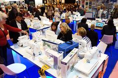 So many people visited the Brother Sewing stand, unbelievable! http://www.brothersewing.co.uk/en_GB/