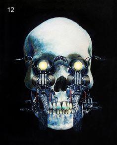 Skulls & Roses & Fire Art | Artwork By Johanna