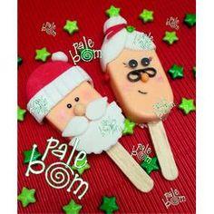 Resultado de imagen para mamuts decorados para san valentin Christmas Themed Cake, Christmas Cake Pops, Christmas Food Gifts, Christmas Sweets, Christmas Themes, Kids Christmas, Christmas Cookies, Paletas Chocolate, Buffet Set Up