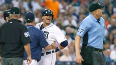 Tigers' J.D. Martinez: Plate umpire Mike Everitt had 'short leash today'