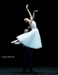 "Natalia Osipova and Ivan Vasiliev, ""Giselle"" - Photo by Gene Schiavone"