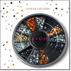 Avon Nail Gems. Coming in Avon's Campaign 23, 2015. www.deannasbeautyshop.com #avon #mani #pedi #nailgems #nails