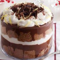 Chocolate Gingerbread Trifle Allrecipes.com