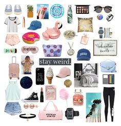 """""""My style june 2017"""" by freyjafifi on Polyvore featuring NIKE, Converse, Yves Saint Laurent, Cynthia Rowley, SO, CalPak, Casetify, H&M, PBteen and BaubleBar"""