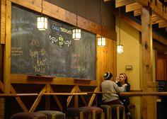 Caribou Coffee Chalkboard