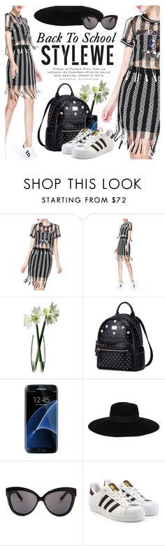 """StyleWe"" by defivirda ❤ liked on Polyvore featuring LSA International, Theo, Samsung, Maison Michel, Linda Farrow, adidas Originals and stylewe"