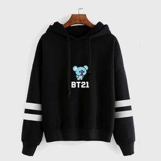 Fresh BTS Cartoon Printed Hoodie bts hoodie, bts jacket, bts clothes, bts s. Hoody Kpop, Bts Hoodie, Hoodie Outfit, Sweater Hoodie, Hoodie Jacket, Pullover, Printed Sweatshirts, Hooded Sweatshirts, Lil Peep Hoodie