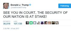 Welcome to Oghenemaga Otewu's Blog: 'See you in Court'- Trump tweets after losing appe...