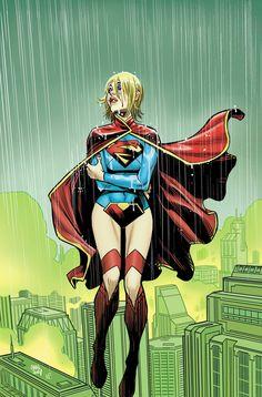 Supergirl #34 by Cameron Stewart *