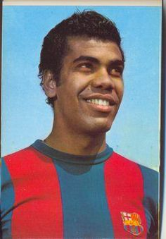 Jorge Mendoca. Having spent the vast majority of his career in Spain, he amassed La Liga totals of 205 games and 70 goals over the course of 12 seasons, almost all with Atlético Madrid, with which he won five major titles. He played in 33 league matches for Barca, 1967-1969. 9 goals.