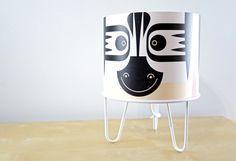 Lámparas ¡de animales!  Lámparas infantiles de diseño e-glue http://www.decopeques.com/lamparas-de-diseno-e-glue/