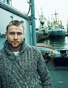 my new plaid pants: Max Riemelt Two Times