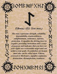 RUNE OF THE DAY ENDURANCE IS THE KEY! BLESSINGS! GALLAN:
