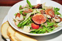 Uma pitanga na cozinha: Salada de Rucula com figos e molho de Vinho do Porto