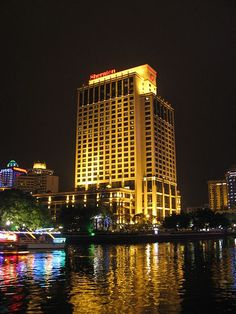 The Sheraton Zhongshan Hotel in Zhongshan, Guangdong, China.
