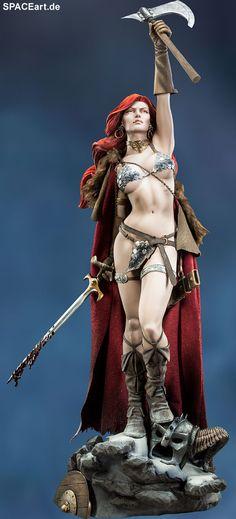 Red Sonja: Red Sonja - Premium Format Figur, Fertig-Modell ... http://spaceart.de/produkte/rds001.php