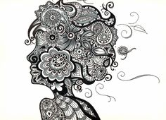 Zentangle, or Zendoodle, is the new drawing craze that everyone's talking about! Whether you're a doodler or an experienced artist, you can Zentangle! Zentangle Drawings, Doodles Zentangles, Zentangle Patterns, Art Drawings, Easy Zentangle, Doodle Patterns, Art Patterns, Zen Doodle, Doodle Art