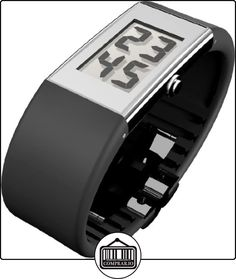 Rosendahl Watch II - Reloj digital de mujer de cuarzo con correa de goma negra - sumergible a 30 metros  ✿ Relojes para mujer - (Gama media/alta) ✿