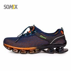 848051e02fbc Summer Style Somix Ultralight Damping Running Shoes for Men Free Run  Sneakers 2017 Slip-On Breathable Blade Soles Sport Shoes  Free runs MVPBOY  Running ...