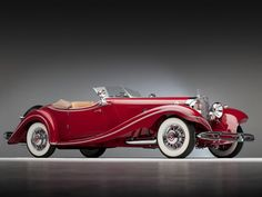 $3.8 Million Vintage Mercedes Stolen in WWII Heading Back to Rightful Owners