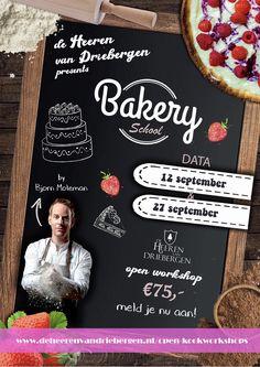 Volg op 12 of 27 september een heerlijke taartworkshop bij de Heeren van Driebergen nog slechts enkele plekken beschikbaar! Wedding Events, Weddings, September, Chalkboard Quotes, Art Quotes, Workshop, Atelier, Mariage, Wedding