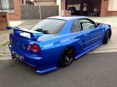 #Nissan #GTR_R34 #Modified #JDM #Slammed #Stance