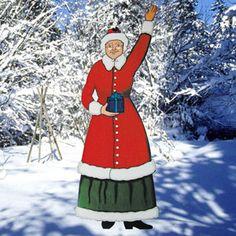 11-577 - Mrs. Santa Claus Greeter Woodworking Plan