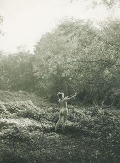 Die Kunst in der Photographie : 19Photographer: Paul Bergon Title: Diana