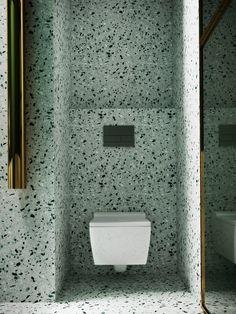 New York concept house on Behance Terrazzo, Painting Bathroom Cabinets, Luxury Shower, Shower Surround, Design Moderne, Modern Bathroom, Master Bathroom, Bathroom Ideas, Bathtub Ideas